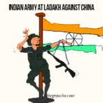 Cartoon: Indian Army At Ladakh