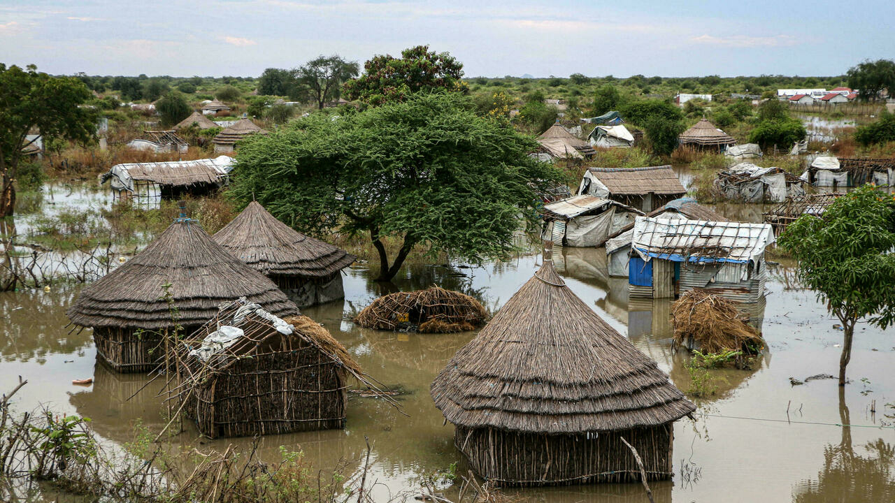 Hundreds of thousands affected by heavy floods in South Sudan, says UN