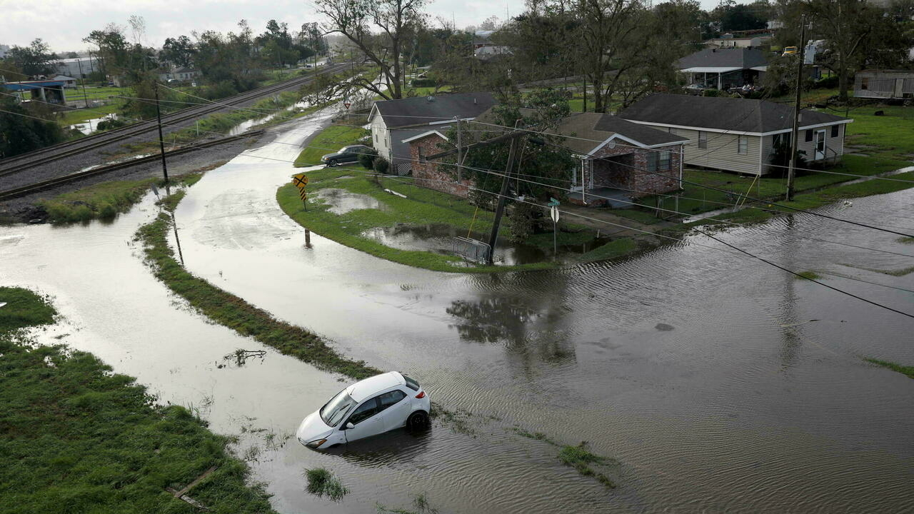 Rescue efforts continue in Louisiana, over 1 million lose power