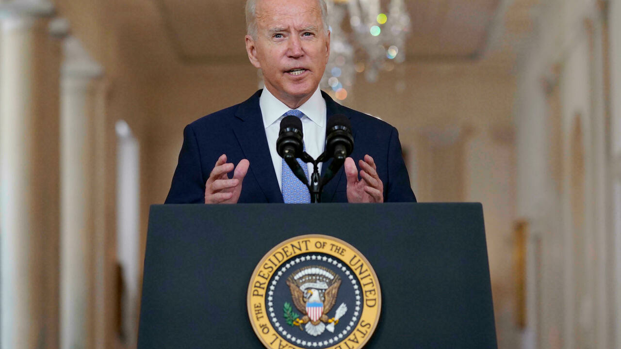 Biden says the only choice in Afghanistan was 'leaving or escalating'