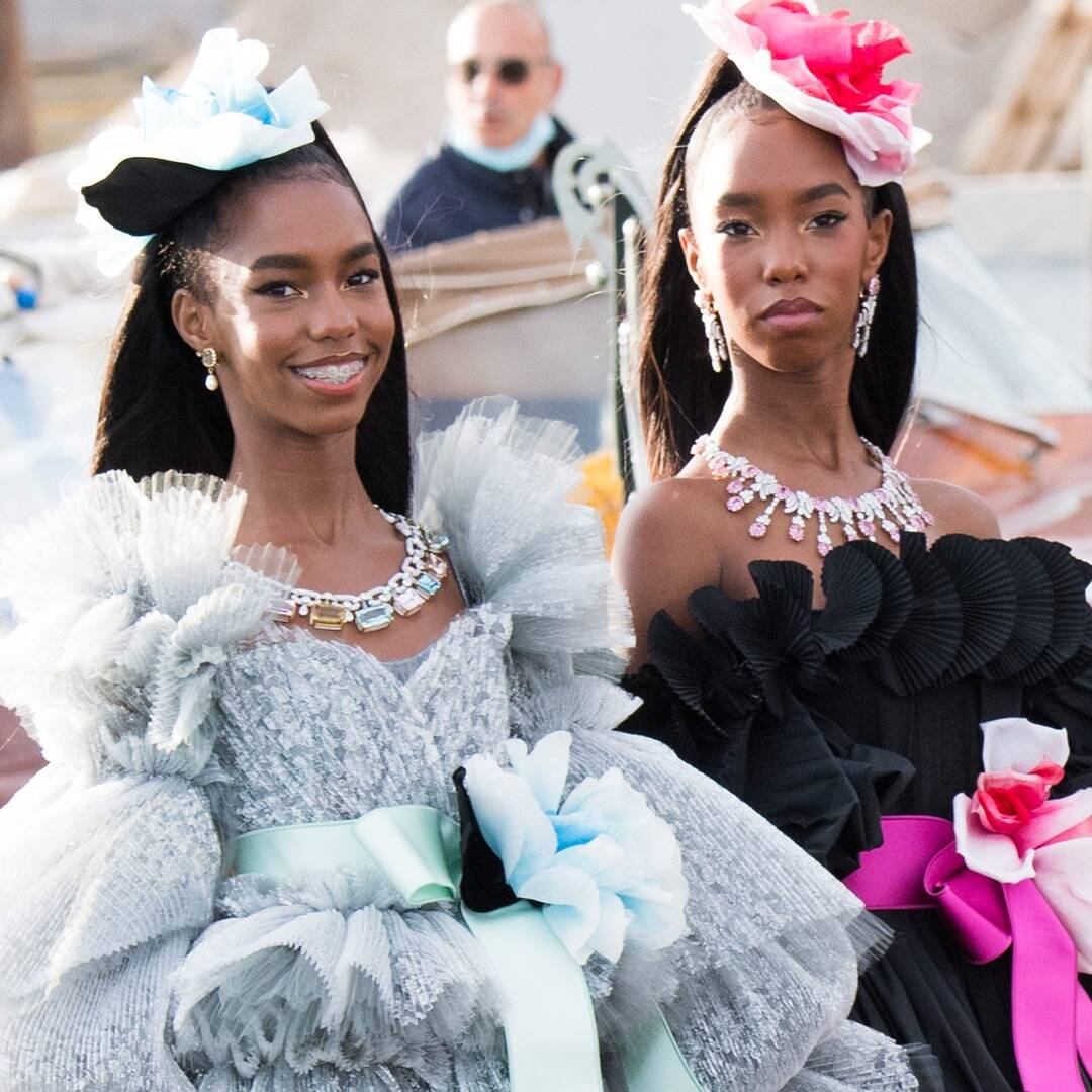 Diddy's Daughters Follow in Late Mom Kim Porter's Modeling Footsteps