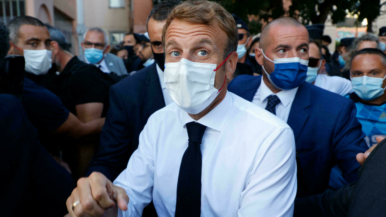 Macron plans to tackle Marseille's drug crime, with eye on re-election
