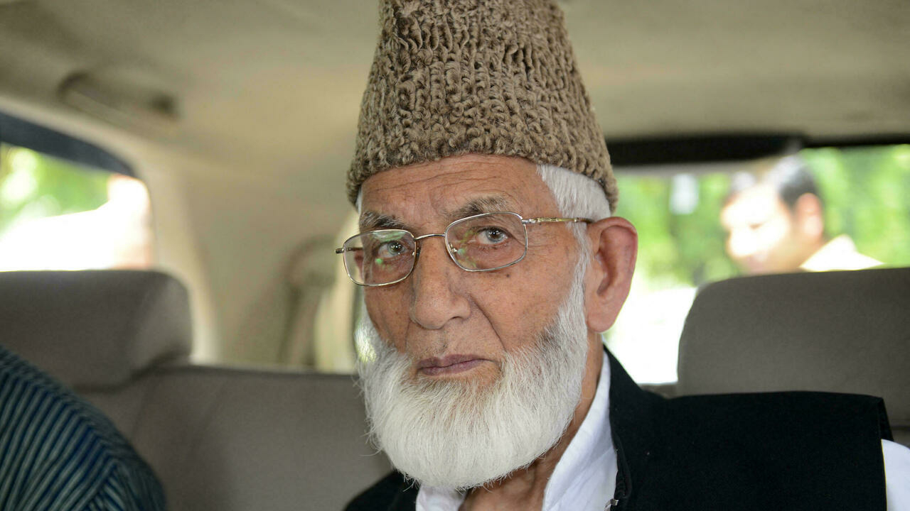 Kashmir separatist icon Syed Ali Shah Geelani dies aged 92