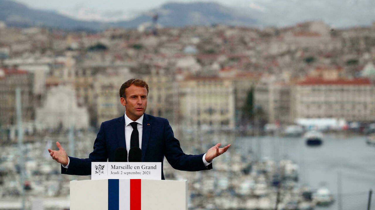 Macron vows to 'harass' traffickers to rid Marseille of drug crime