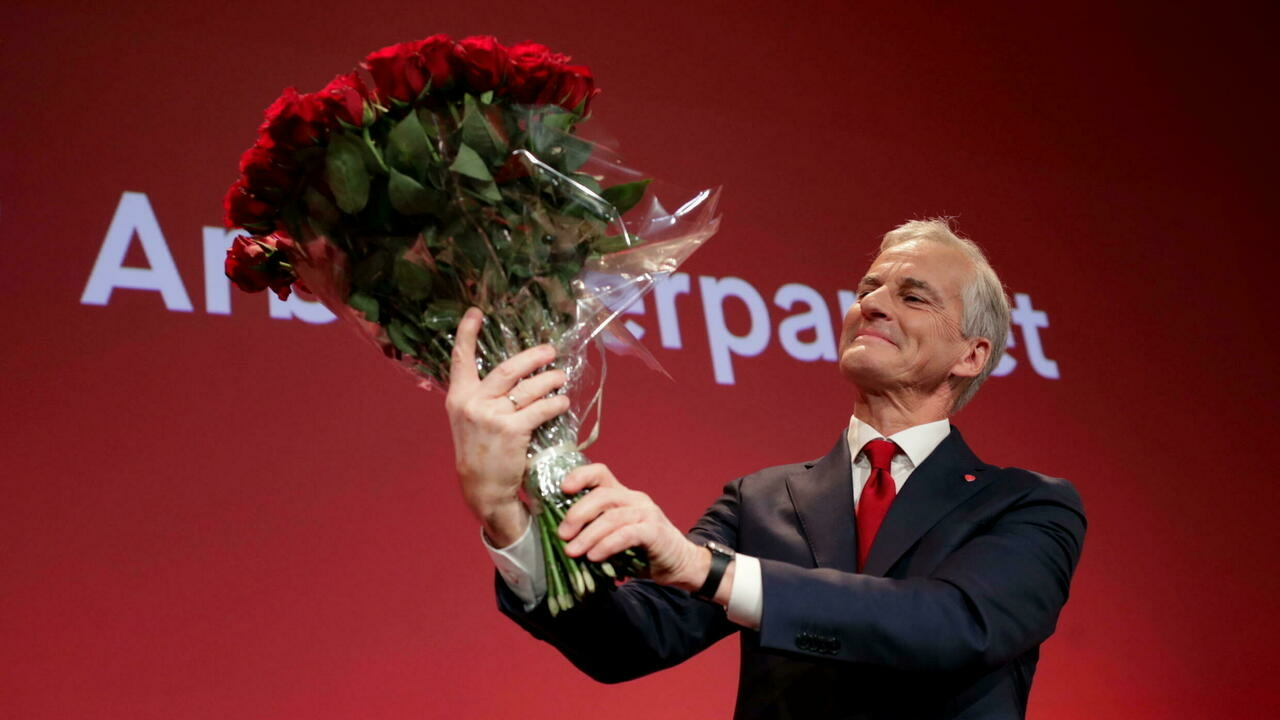 Norway's leftwing opposition wins general election in a landslide