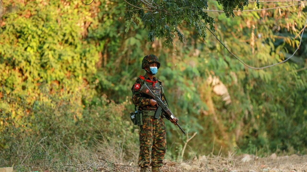 Myanmar faces 'alarming' risk of civil war, UN says