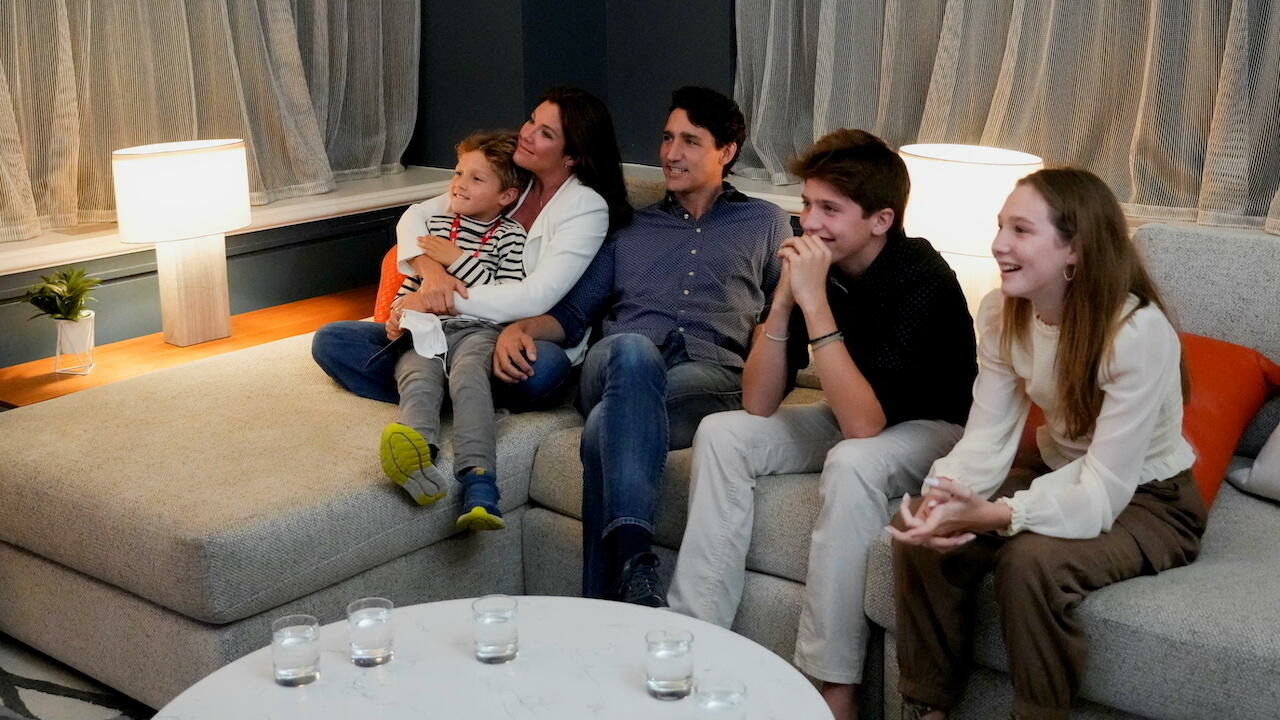Trudeau's Liberal party leads polls but falls short of majority, Canadian media project