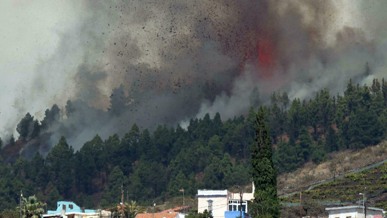 Canary Islands volcano causes more destruction and evacuations