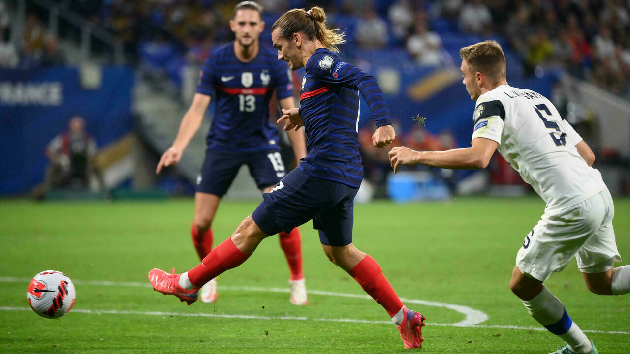 Griezmann scores twice, France beats Finland 2-0 in World Cup qualifier