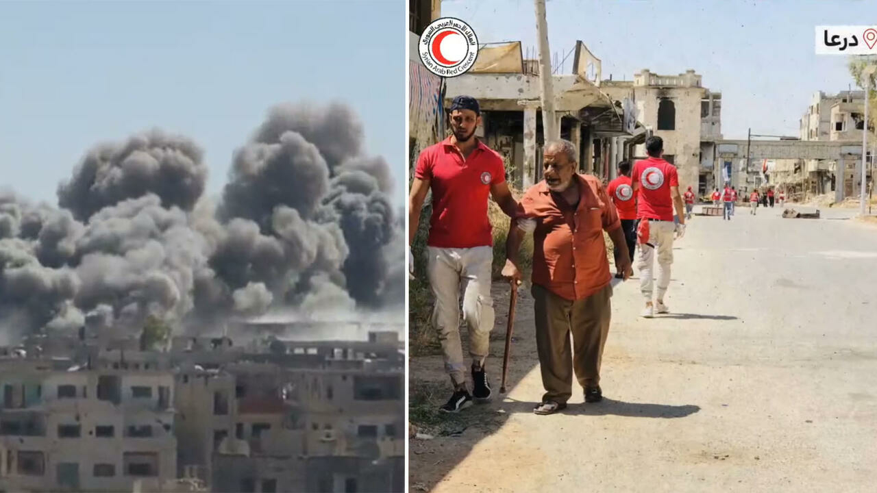 Daraa, cradle of uprising against Syrian regime, starts to rebuild after 75-day siege