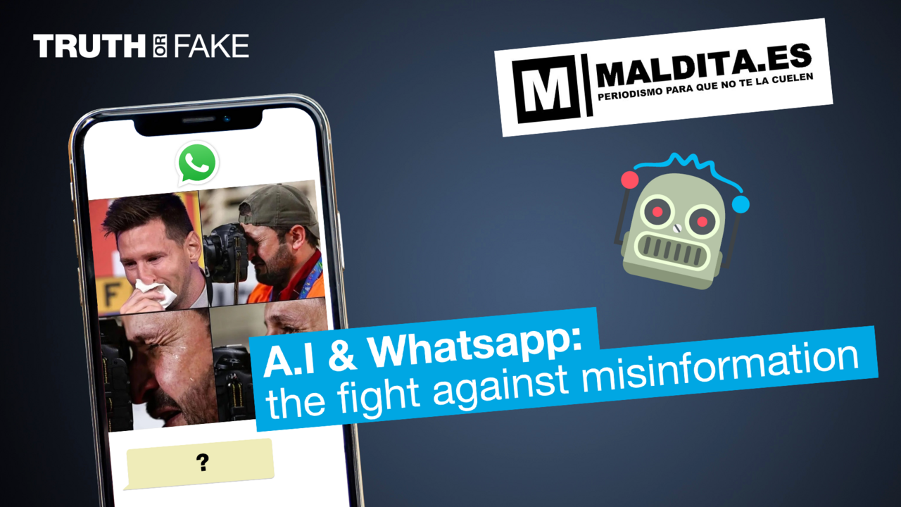 How artificial intelligence on Whatsapp can help fight disinformation