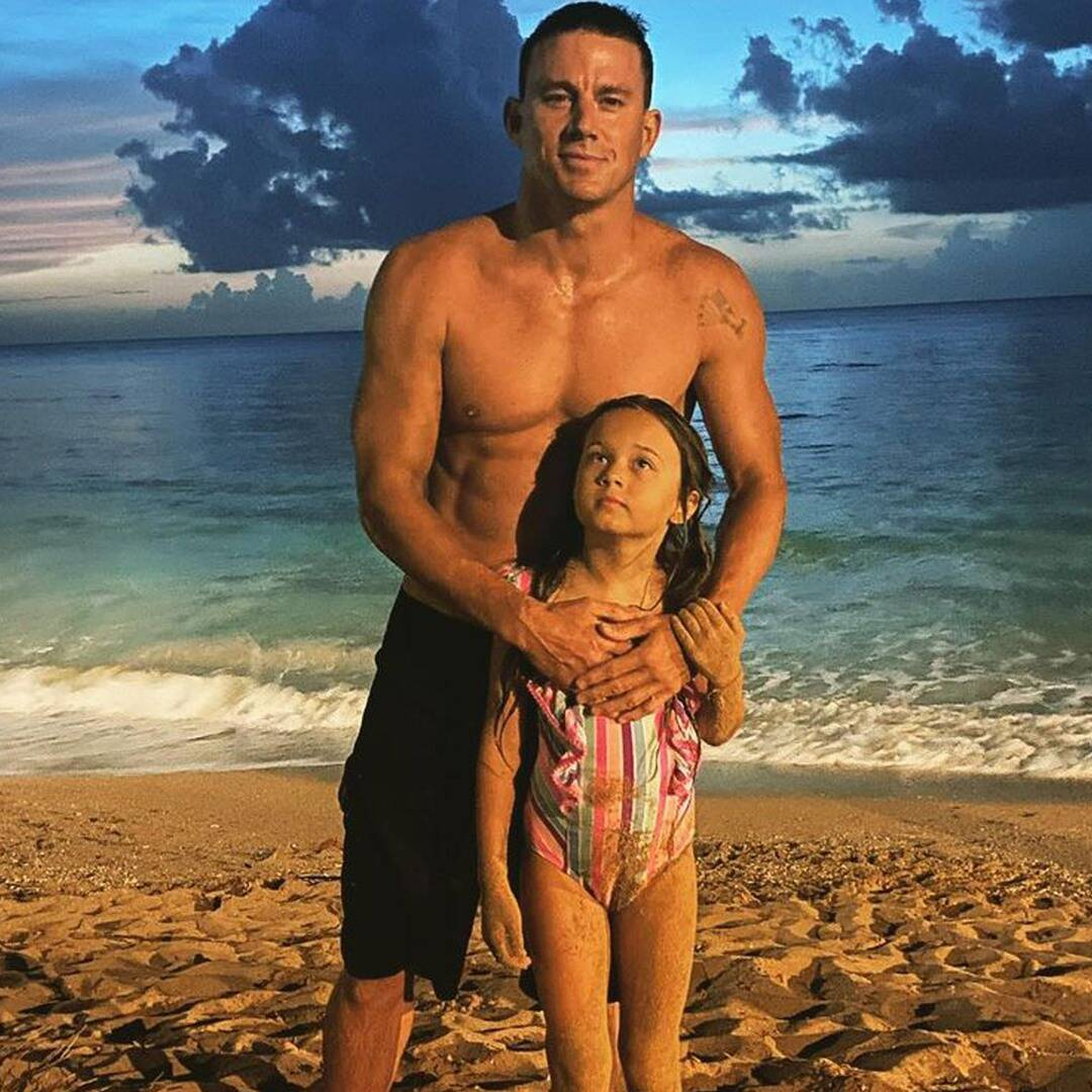"""Channing Tatum Shares Sweet New Photos of """"Moon Witch"""" Daughter Everly"""