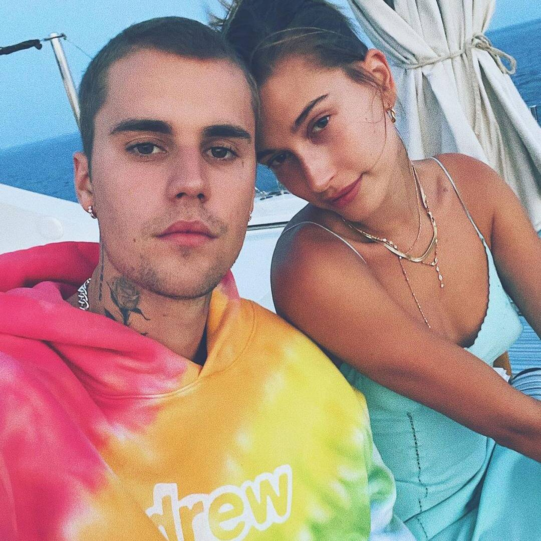 """Hailey Bieber Sounds Off on """"Big, Fat"""" Rumor About Justin Bieber"""