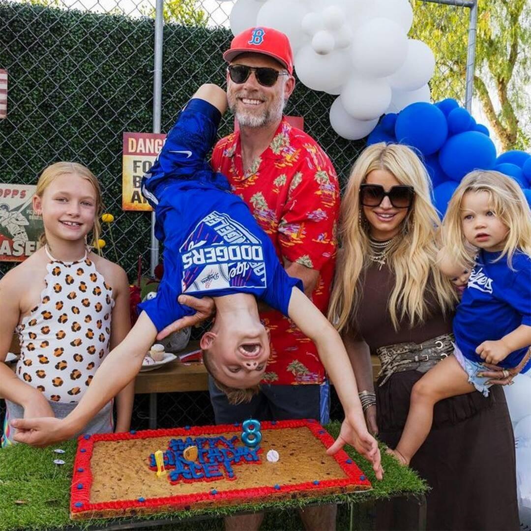 Jessica Simpson Celebrates Eric Johnson's B-Day With Cute Family Photo