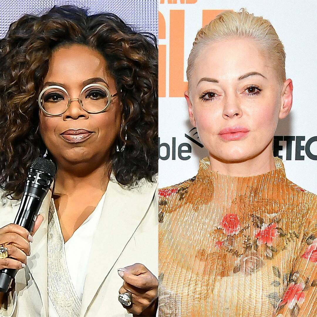 """Rose McGowan Fires Back at Criticism for """"Throwing Stones"""" at Oprah"""