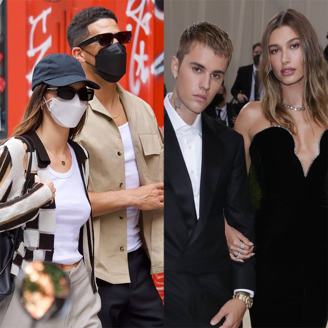 Kendall Jenner & Hailey Bieber Double Date With Tropical Vacay