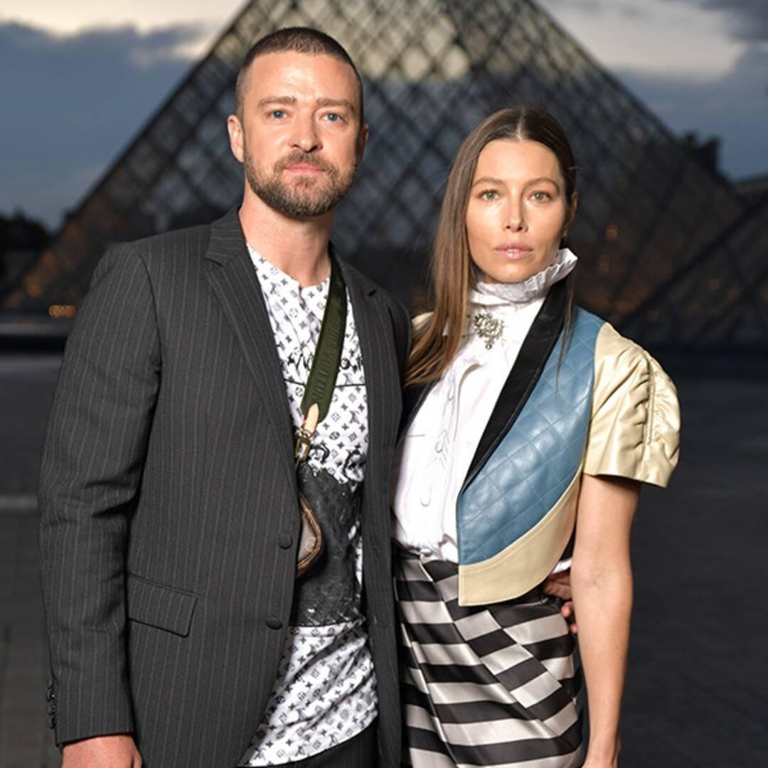 See Justin Timberlake & Jessica Biel Take Scrabble a Bit Too Seriously